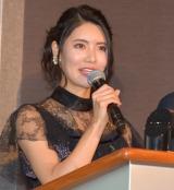 『2019 スカパー!ドラマティック・サヨナラ賞 年間大賞』の授賞式にMCとして参加した倉持明日香 (C)ORICON NewS inc.