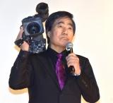 ドキュメンタリー映画『M/村西とおる狂熱の日々 完全版』の公開記念前夜祭舞台あいさつに参加した村西とおる (C)ORICON NewS inc.