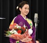 『第43回山路ふみ子映画賞』贈呈式に出席した前田敦子 (C)ORICON NewS inc.