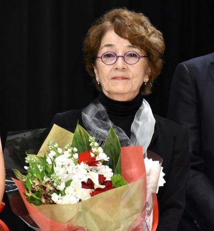 『第43回山路ふみ子映画賞』贈呈式に出席した倍賞千恵子 (C)ORICON NewS inc.