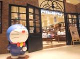 『ドラえもん』世界初の公式店舗ではドラえもんがお出迎え (C)ORICON NewS inc.