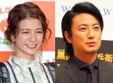 (左から)スザンヌ、上地雄輔(C)ORICON NewS inc.