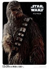 映画『スター・ウォーズ/スカイウォーカーの夜明け』(12月20日、日米同時公開)キャラクターポスター=チューバッカ(C)2019 ILM and Lucasfilm Ltd. All Rights Reserved.