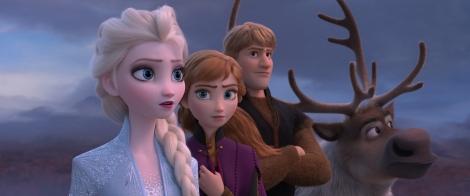 『アナと雪の女王2』のメインカット(C)2019 Disney. All Rights Reserved.