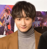写真展『15th Anniversary SUPER HANDSOME MUSEUM』囲み取材に参加した小関裕太 (C)ORICON NewS inc.