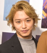 写真展『15th Anniversary SUPER HANDSOME MUSEUM』囲み取材に参加した松岡広大 (C)ORICON NewS inc.