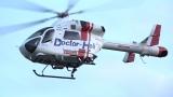 7日放送『7実録ドクターヘリ緊急救命2−命の現場最前線−』よりドクターヘリ (C)フジテレビ