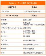 『2019 ユーキャン新語・流行語大賞』が発表に(C)ORICON NewS inc.