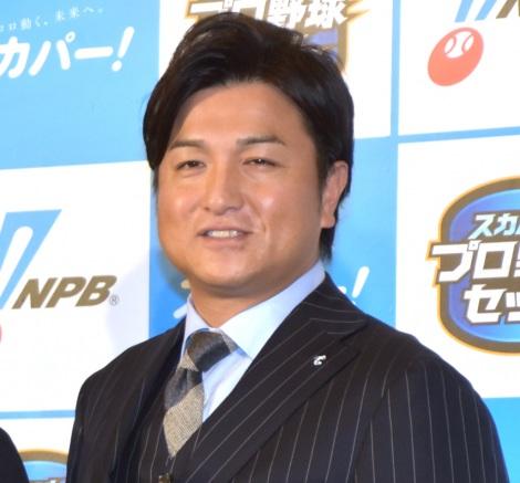 『2019 スカパー!ドラマティック・サヨナラ賞 年間大賞』の授賞式に出席した高橋由伸 (C)ORICON NewS inc.