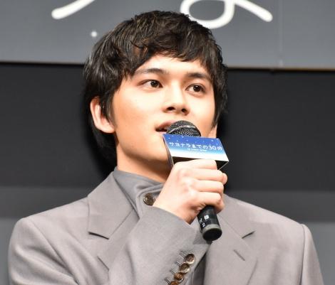 映画『サヨナラまでの30分』の完成披露試写会に登壇した北村匠海 (C)ORICON NewS inc.