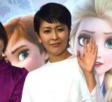 映画『アナと雪の女王2』大ヒット記念イベントに登壇した松たか子 (C)ORICON NewS inc.