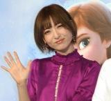 映画『アナと雪の女王2』大ヒット記念イベントに登壇した神田沙也加 (C)ORICON NewS inc.