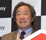 『メルペイスマート払い』の新CM発表会に参加した武田鉄矢 (C)ORICON NewS inc.