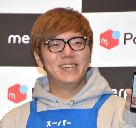『メルペイスマート払い』の新CM発表会に参加したHIKAKIN (C)ORICON NewS inc.