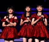 モーニング娘。新メンバーの15期(左から)北川莉央、岡村ほまれ、山崎愛生