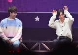 """(左から)バンチャン、ヒョンジン=『Stray Kids Japan Showcase 2019 """"Hi-STAY""""』より (C)ORICON NewS inc."""