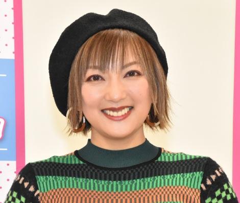 """長男に""""キメ顔""""を指導していると語った山田まりや=『レディGO!Project』のトークショー (C)ORICON NewS inc."""