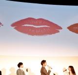 橋本環奈のキスマーク=映画『午前0時、キスしに来てよ』先行上映舞台あいさつ (C)ORICON NewS inc.