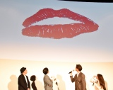 片寄涼太のキスマーク=映画『午前0時、キスしに来てよ』先行上映舞台あいさつ (C)ORICON NewS inc.