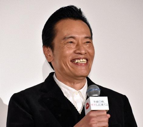 映画『午前0時、キスしに来てよ』先行上映舞台あいさつに登壇した遠藤憲一 (C)ORICON NewS inc.