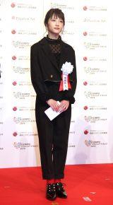 『SOMPOパラリンアートカップ2019』の表彰式に参加した若月佑美 (C)ORICON NewS inc.