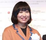 『SOMPOパラリンアートカップ2019』の表彰式に参加した山崎静代 (C)ORICON NewS inc.