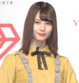 「Yahoo!検索大賞」でアイドル部門を受賞した日向坂46・小坂菜緒 (C)ORICON NewS inc.