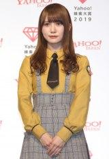 「Yahoo!検索大賞」でアイドル部門を受賞した日向坂46・加藤史帆 (C)ORICON NewS inc.