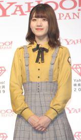 「Yahoo!検索大賞」でアイドル部門を受賞した日向坂46・佐々木美玲 (C)ORICON NewS inc.