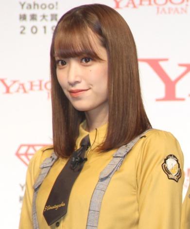「Yahoo!検索大賞」でアイドル部門を受賞した日向坂46・佐々木久美 (C)ORICON NewS inc.