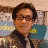 ミュージカル『ロカビリー☆ジャック』公開ゲネプロ前囲み取材に登壇した岸谷五朗 (C)ORICON NewS inc.