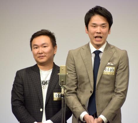 『M-1グランプリ』決勝進出したかまいたち (C)ORICON NewS inc.