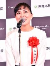 「東急プラザ渋谷」のオープニングセレモニーに出席した板谷由夏 (C)ORICON NewS inc.