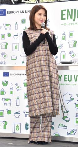 『Enjoy EU Village!』オープニングイベントに出席した川島海荷 (C)ORICON NewS inc.