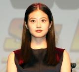 映画『僕のヒーローアカデミア THE MOVIE HEROES:RISING』完成披露舞台挨拶に出席した今田美桜 (C)ORICON NewS inc.