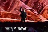 さいたまスーパーアリーナで13年ぶりの日本公演を行ったU2 Photo by Yuki Kuroyanagi