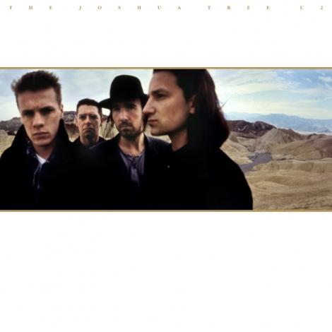 U2『ヨシュア・トゥリー』(30周年記念盤) ジャケット