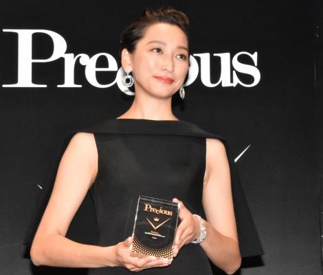 『Precious WATCH AWARD 2019』発表・贈賞式に出席した杏 (C)ORICON NewS inc.