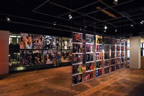 サムネイル 音楽とアートを融合させたイベント「GRADATION 代官山」が開催中(写真はレスリー・キーによる「VOGUE Taiwan」のカバー作品展示)