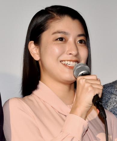 映画『ゴーストマスター』公開記念舞台あいさつに出席した成海璃子 (C)ORICON NewS inc.