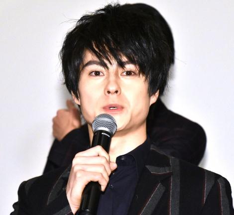 実写映画の続編『BLOOD-CLUB DOLLS2』制作発表会に出席した松村龍之介 (C)ORICON NewS inc.