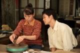 連続テレビ小説『スカーレット』川原喜美子(戸田恵梨香)と十代田八郎(松下洸平)がいい感じになっていった第10週(C)NHK