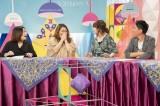 第2弾の放送が決定した『やすとものアレコレソーレ』に出演する(左から)海原やすよともこ、松本伊代、福田充徳(C)読売テレビ