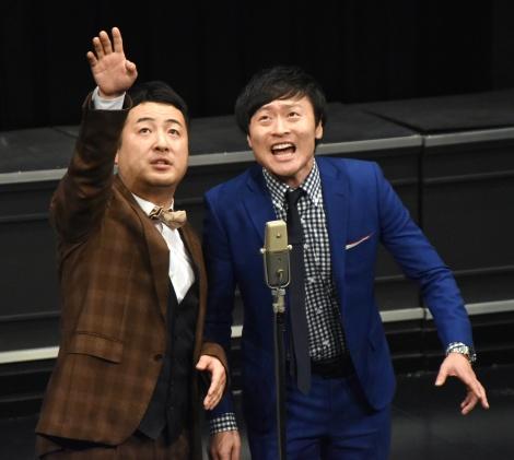 『FC今治応援イベント』に登場した和牛 (C)ORICON NewS inc.