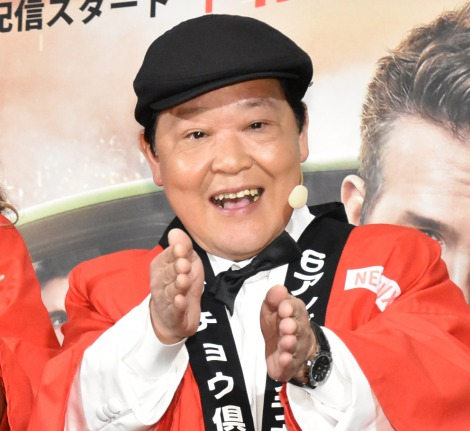 Netflix映画『6アンダーグラウンド』のジャパンプレミア上映会に出席した上島竜兵 (C)ORICON NewS inc.