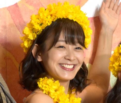 舞台『フラガール -dance for smile-』公開ゲネプロ前の取材会に出席した太田奈緒 (C)ORICON NewS inc.