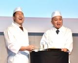 チョコレートプラネット(左から)長田庄平、松尾駿 (C)ORICON NewS inc.