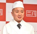 東京都麺類協同組合『東京二八そば』ブランド立ち上げ発表イベントに登壇した松尾駿