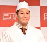 東京都麺類協同組合『東京二八そば』ブランド立ち上げ発表イベントに登壇した長田庄平