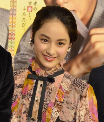 NHK BSプレミアムの新春時代劇試写会後会見に登壇した平祐奈 (C)ORICON NewS inc.